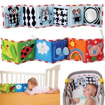 High Quality Colorful Patterns Baby Mobile Cloth Book Crib Bed Around So... - $27.00+
