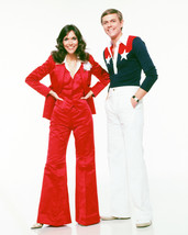 The Carpenters Studio Pose Karen In Red Bell Bottom Outfit Richard 16x20 Canvas  - $69.99