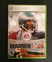 Madden NFL 06 (Microsoft Xbox 360, 2005)  - $4.74