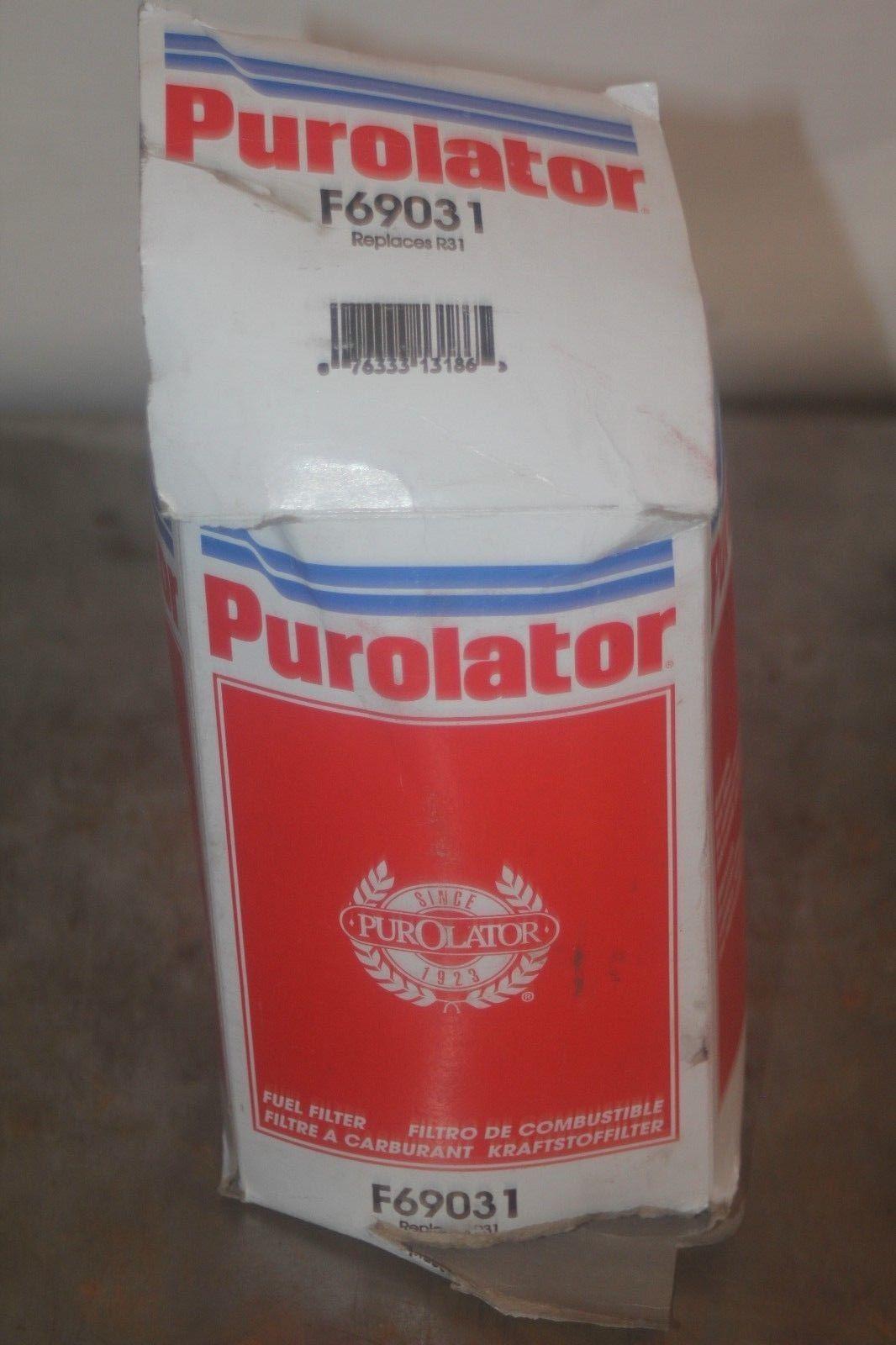 Fuel Filter Purolator F69031 And 50 Similar Items Filters