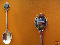 BANFF Alberta BEAR Collector Souvenir Spoon