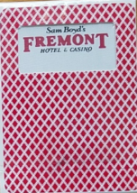Sam Boyd's  Fremont Hotel & Casino Las Vegas Playing Cards - $7.95