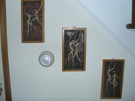 Set of 3 Art Tiles - $32.00