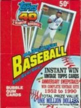 2 BOX LOT! 1991 Topps Baseball Wax Box CHIPPER JONES RC - $24.95