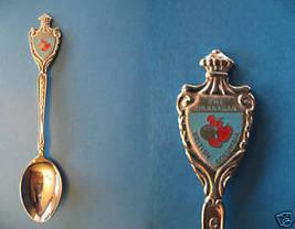 OKANAGAN BC. FRESH FRUIT Collector Souvenir Spoon  - $5.99