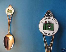 1985 Bc. Summer Games Nanaimo Collector Souvenir Spoon - $6.99