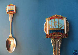 Vintage Trafalgar Victoria Australia 1915 Souvenir Spoon - $9.99