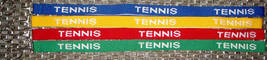Tennis Woven Lanyard - 4pc/pack (Multiple Colors) - $14.99