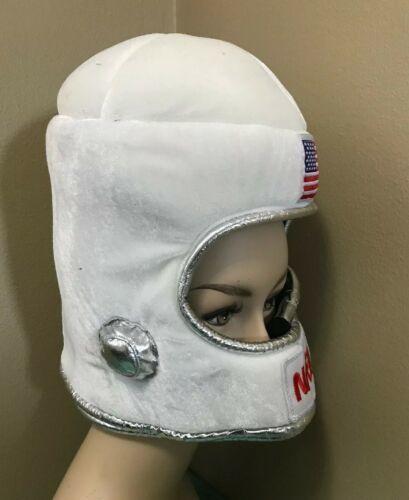 Kid/'s Plush NASA Astronaut Outer Space Helmet Hat Hood Costume Accessory
