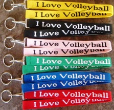Volleyball Woven Lanyard - 8pc/pack (Multiple Colors) - $23.99