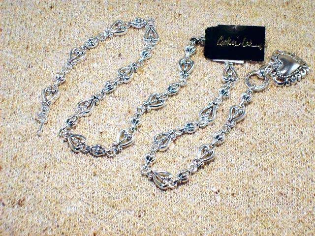 Cookie Lee Antiqued Silver Heart Necklace - Item #48017 - New! image 4