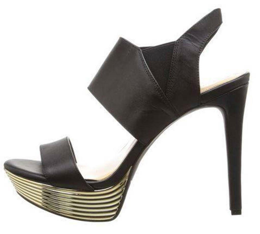 Primary image for Women's Shoes Jessica Simpson FEEHAMM Platform Stiletto Heels Sandals Black