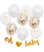 Wholesale Lot Baby Shower Decorations 1000 Units Gold Neutral Color Part... - $924.85