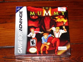 Neu Ovp The Mummy (Nintendo Game Boy Advance, 2002) H-Seam Extrem Selten... - $369.09
