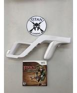 Link's Crossbow Training W/OEM Zapper Gun (Nintendo Wii, 2007) - $19.95