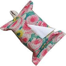 PANDA SUPERSTORE Creative Cloth Tissue Box Holder Multicolor Pattern