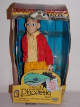 1996 Adventures Of Pinocchio Doll With Inflatable Sea Monster - $24.99