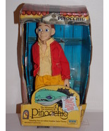 1996 Adventures Of Pinocchio Doll With Inflatable Sea Monster - $44.99