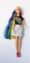 Barbie Rainbow Sparkle Hair Doll Mattel - $14.70