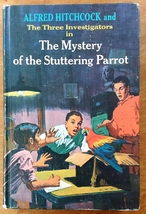 Three Investigators Mystery of the Stuttering Parrot 1st Edition 1st Print  - $38.00
