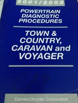 Town & Country Caravan & Voyager Body Diagnostic Procedures 2001 2002 - $123.54