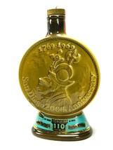 "Jim Beam Bourbon 10"" Whiskey Bottle San Diego 200th Anniversary 1968 Vintage  - $59.35"