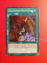 First Edition Unauthorized Reactivation Super Rare Card - SR10-EN041 MINT!!! - $1.97