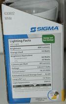 Sigma 630802 Weatherproof Metal LED Light 10 Watts 800 Lumens White image 8