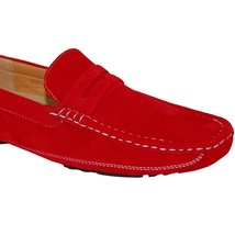 KRAZY SHOE Slip Shoe Fiery ARTISTS On Driving Red Casual qzpP1wq