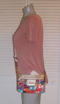 Coach Poppy Grafitti Canvas Cross Body Swingpack Bag image 4