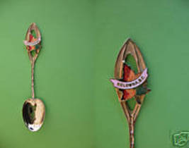 KELOWNA BC. Maple Leaf Collector Souvenir Spoon  - $4.99