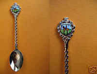 RCMP CENTENNIAL 1873-1973 Police Collector Souvenir Spoon
