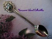 New Westminster BC. Patulla Bridge Collector Souvenir Spoon