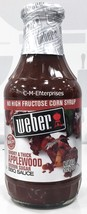 Weber's Smoky & Thick Applewood  Brown Sugar BBQ Sauce 18 oz Webers Barb... - $5.41