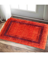 2' x 3' Roma Oriental Gabbeh 100% Hand Knotted Woolen Area Rugs Carpets - $147.51
