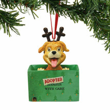 Adopted Dog for Christmas Ornament - $16.95