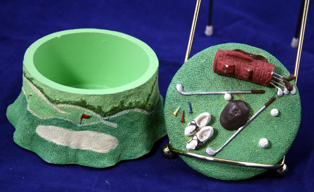 Golf Theme Trinket Box