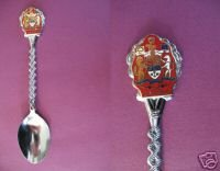 CANADA COAT Of ARMS Collector Souvenir Spoon