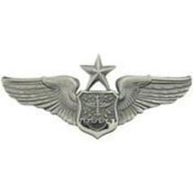 "United States Air Force Observer Navigator Senior Wing Badge Pin 3"" - $11.87"