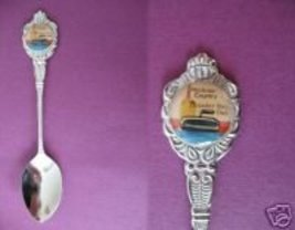 Curling Hackner County Thunder Bay Ontario Souvenir Spoon - $5.99