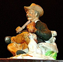 Gentleman Figurine playing the Fiddle AA20-2168 Vintage