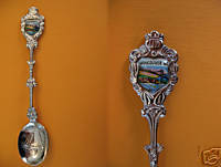 VANCOUVER BC. BRIDGE SAILBOAT Collector Souvenir Spoon