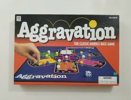 Aggravation The Classic Marble Race Game 1999 Hasbro  - $20.56