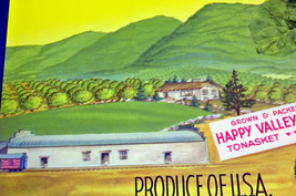 Happy Valley! Britevale Crate Label, 1940's  - $3.95