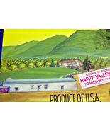 Happy Valley! Britevale Crate Label, 1940's  - $3.95