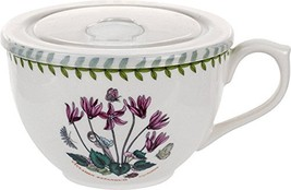 Portmeirion 612648 Botanic Garden Jumbo Cup with Lid, 20Oz, Cyclamen, 20... - $67.04