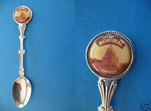 MONTREAL CATHEDRAL BASILICA MARY QUEEN Souvenir Spoon