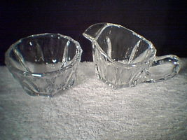 HEISEY CREAM & SUGAR~~unmarked~~ - $15.00