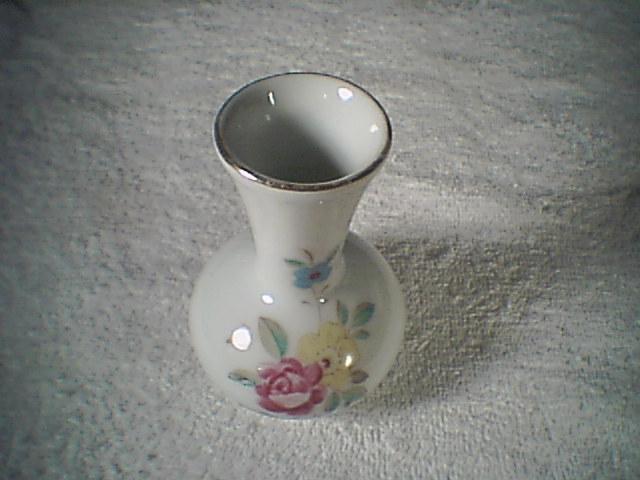 Little tiny Flowered Vase