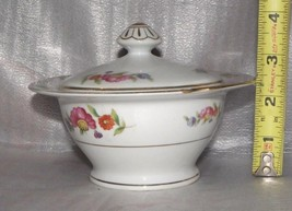 Moriyama china sugar bowl made in occupied Japan w lid - $12.38